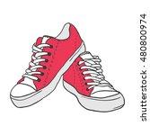 illustration of vintage red... | Shutterstock .eps vector #480800974