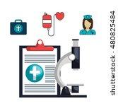 set online services medical...   Shutterstock .eps vector #480825484