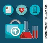 set online services medical... | Shutterstock .eps vector #480825535