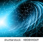 best internet concept of global ... | Shutterstock . vector #480844069