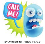 3d rendering angry character... | Shutterstock . vector #480844711