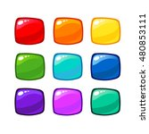 bright cartoon rainbow vector...
