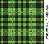 seamless illustration   green... | Shutterstock .eps vector #480863029