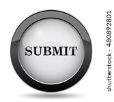 submit icon. internet button on ... | Shutterstock . vector #480892801