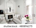 living room interior | Shutterstock . vector #480896275