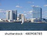 atlantic city  new jersey  usa  ... | Shutterstock . vector #480908785