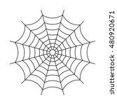 cobweb vector illustration | Shutterstock .eps vector #480920671