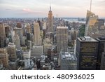 view of midtown manhattan new... | Shutterstock . vector #480936025