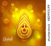 happy diwali illustration... | Shutterstock .eps vector #480993199