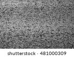 Small photo of New draining asphalt road background with an improved adherence surface
