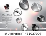 abstract background. round...   Shutterstock .eps vector #481027009