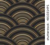 vector abstract seamless...   Shutterstock .eps vector #481031491