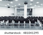 modern press conference room... | Shutterstock . vector #481041295