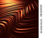 Abstract chocolate background (3d remarkable abstract backgrounds and objects series) - stock photo