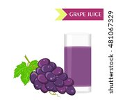 illustration with juicy and...   Shutterstock . vector #481067329