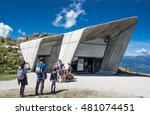 messner mountain museum  plan... | Shutterstock . vector #481074451