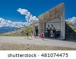 messner mountain museum  plan... | Shutterstock . vector #481074475