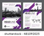 brochure template design.... | Shutterstock .eps vector #481092025