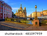 the church of the savior on... | Shutterstock . vector #481097959