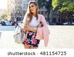 outdoor fashion   street stile... | Shutterstock . vector #481154725