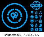 geo diagram icon with bonus.... | Shutterstock .eps vector #481162477