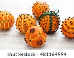 Clove Orange Pomander Balls ...