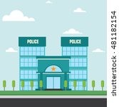 police office building flat... | Shutterstock .eps vector #481182154