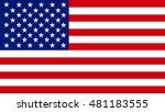 american flag | Shutterstock . vector #481183555