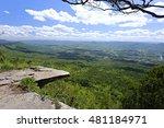 pha hum hod or hum hod cliff ...   Shutterstock . vector #481184971