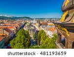view to kosice theatre and... | Shutterstock . vector #481193659
