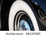 Closeup Of The Chrome Rims With ...
