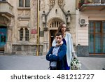 pretty young girls hugs her... | Shutterstock . vector #481212727