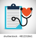medical concept set icons... | Shutterstock .eps vector #481231861