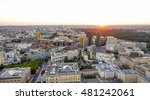 aerial view over the city of... | Shutterstock . vector #481242061