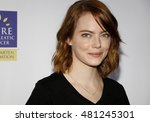 Small photo of Emma Stone at the 5th Biennial Stand Up To Cancer held at the Walt Disney Concert Hall in Los Angeles, USA on September 9, 2016.