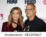 Tom Hanks And Rita Wilson At...