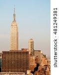 manhattan  new york city skyline | Shutterstock . vector #481249381