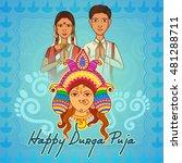 vector design of people of... | Shutterstock .eps vector #481288711