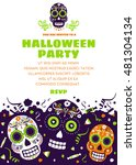 Halloween Party Invitation Or...