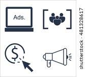 set of seo  marketing and...
