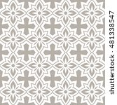 seamless ornamental pattern... | Shutterstock .eps vector #481338547