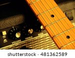 Guitar Leaning Guitar Amp  ...