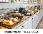 breakfast buffet | Shutterstock . vector #481370065