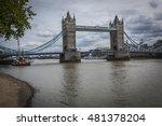 tower bridge london  a well... | Shutterstock . vector #481378204