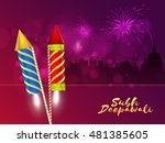 creative festive background... | Shutterstock .eps vector #481385605