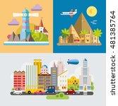 modern flat design conceptual...   Shutterstock .eps vector #481385764