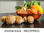various vegetables and...