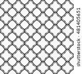 seamless geometric line pattern ... | Shutterstock .eps vector #481405651