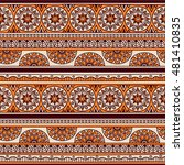 vector seamless pattern with... | Shutterstock .eps vector #481410835
