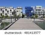 the confluence district in lyon ... | Shutterstock . vector #481413577